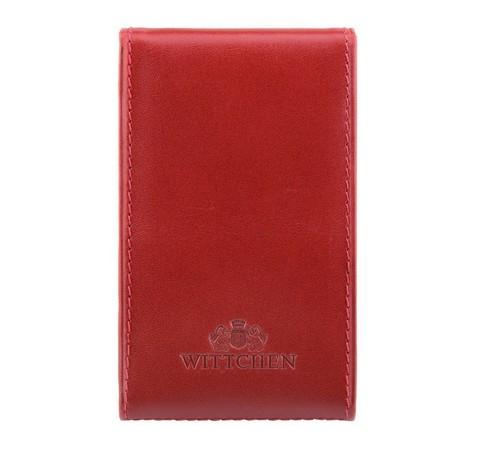 Etui na wizytówki, czerwony, 21-2-240-3, Zdjęcie 1