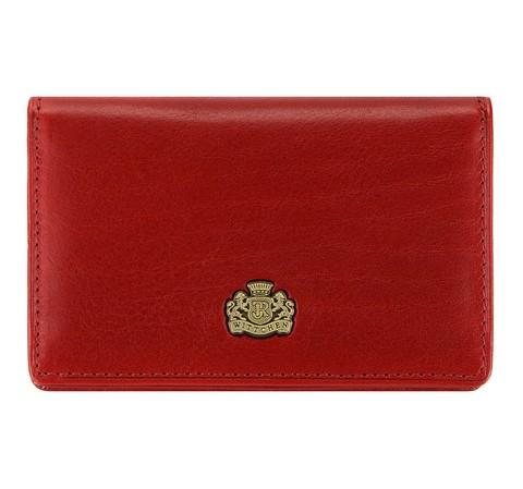 Etui na wizytówki, czerwony, 10-2-052-3, Zdjęcie 1