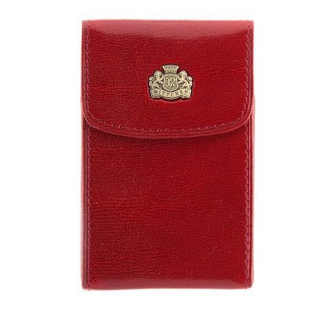 Etui na wizytówki, czerwony, 10-2-151-3, Zdjęcie 1