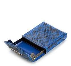 Etui na wizytówki, niebiesko - czarny, 19-2-151-NN, Zdjęcie 1