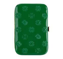 Etui na wizytówki, zielony, 34-2-250-0S, Zdjęcie 1