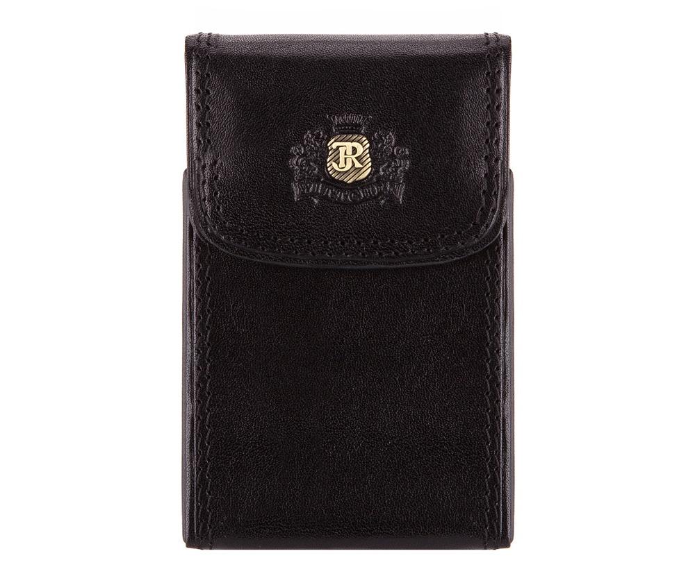 ВизитницаВизитница из коллекции Da Vinci. Сделана из прочной телячьей кожи,логотип - металлический значок на тисненом гербе с монограммой цвета старого золота. С помощью визитницы подчеркнешь свой статус и проффесионализм, а визитки всегда будут в идеальном порядке. Визитницы упакованыв подарочную упаковку с логотипом WITTCHEN.&#13;<br>&#13;<br>&#13;<br>&#13;<br>    отделение для визиток с металлическим механизмом;&#13;<br>&#13;<br>&#13;<br>Визитница состоит:<br><br>секс: унисекс<br>Цвет: черный<br>материал:: натуральная кожа<br>высота (см):: 10<br>ширина (см):: 6.5