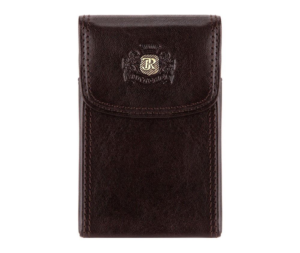 ВизитницаВизитница из коллекции Da Vinci. Сделана из прочной телячьей кожи,логотип - металлический значок на тисненом гербе с монограммой цвета старого золота. С помощью визитницы подчеркнешь свой статус и проффесионализм, а визитки всегда будут в идеальном порядке. Визитницы упакованыв подарочную упаковку с логотипом WITTCHEN.&#13;<br>Визитница состоит:&#13;<br>&#13;<br>    отделение для визиток с металлическим механизмом;<br><br>секс: унисекс<br>Цвет: коричневый<br>материал:: натуральная кожа<br>высота (см):: 10<br>ширина (см):: 6.5