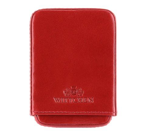 Etui na wizytówki, czerwony, 21-2-039-3, Zdjęcie 1