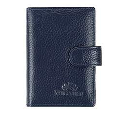 Business card holder, navy blue, 81-1-407-7, Photo 1