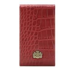 Etui na wizytówki, czerwony, 15-2-240-3, Zdjęcie 1