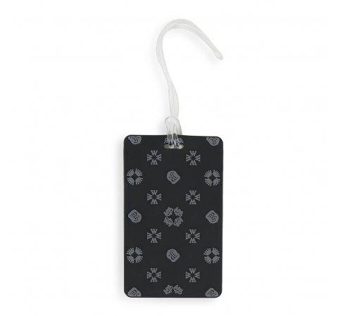 identyfikator do bagażu, czarno - szary, 56-30-016-10, Zdjęcie 1