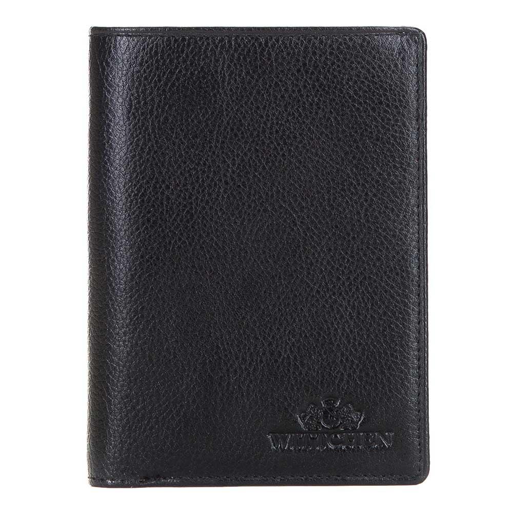 Pánska kožená peňaženka bez zapínania.