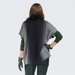 Women's gilet, grey, 87-9F-037-8, Photo 1