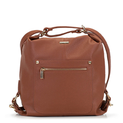 Women's hobo bag, camel, 91-4Y-615-5, Photo 1