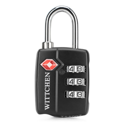 TSA combination lock, black, 56-30-022-11, Photo 1