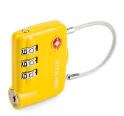 Combination lock, yellow, 56-30-024-60, Photo 1
