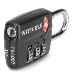 TSA combination lock, black, 56-30-022-11, Photo 1