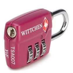 TSA combination lock, pink, 56-30-022-34, Photo 1