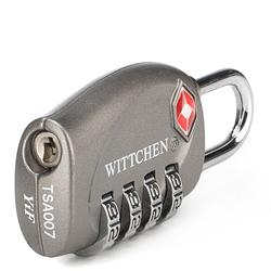 Combination lock, grey, 56-30-023-12, Photo 1