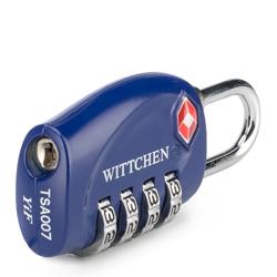 Combination lock, navy blue, 56-30-023-92, Photo 1