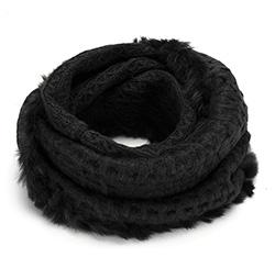 Women's snood, black, 85-7F-006-1, Photo 1