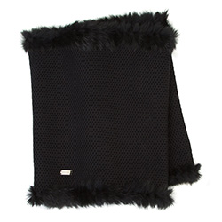 Women's snood, black, 87-7F-002-1, Photo 1