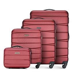 Zestaw walizek, bordowy, 56-3A-36K-36, Zdjęcie 1