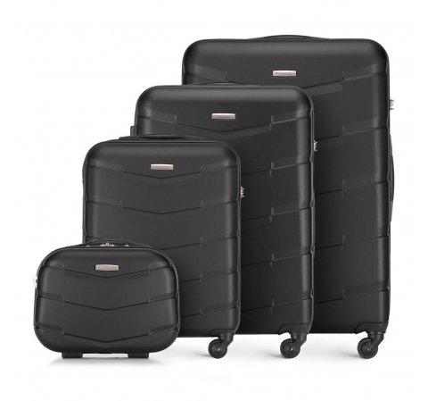 Zestaw walizek, czarny, 56-3A-40K-81, Zdjęcie 1