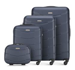 Zestaw walizek, granatowy, 56-3A-40K-91, Zdjęcie 1