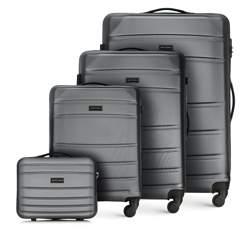 Zestaw walizek, szary, 56-3A-65K-01, Zdjęcie 1