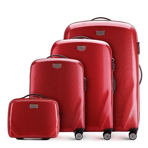 Zestaw walizek, czerwony, 56-3P-57K-50, Zdjęcie 1