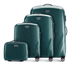 Zestaw walizek, zielony, 56-3P-57K-85, Zdjęcie 1