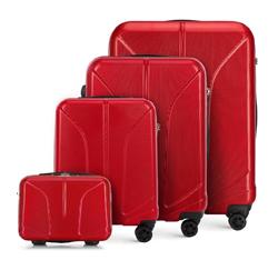 Zestaw walizek, czerwony, 56-3P-81K-30, Zdjęcie 1