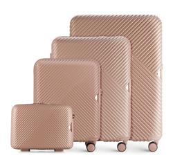 Zestaw walizek, pudrowy róż, 56-3P-84K-77, Zdjęcie 1