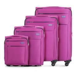 Zestaw walizek, fuksja, V25-3S-22K-33, Zdjęcie 1