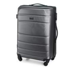 Zestaw walizek z ABS-u tłoczonych, szary, 56-3A-65K-01, Zdjęcie 1