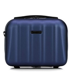 Textured polycarbonate travel case, blue, 56-3P-114-95, Photo 1