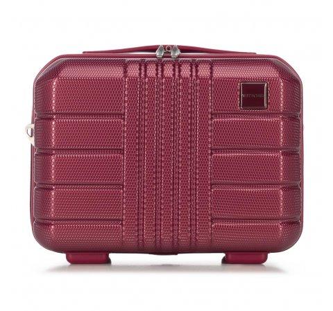 Kosmetyczka podróżna z polikarbonu, zgaszony czerwony, 56-3P-824-90, Zdjęcie 1