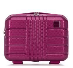 Kosmetyczka podróżna z polikarbonu, różowy, 56-3P-824-60, Zdjęcie 1