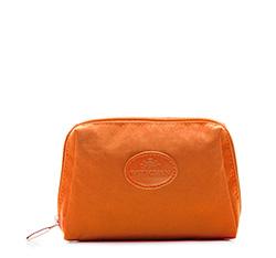 Kosmetyczka, pomarańczowy, 85-4P-001-8, Zdjęcie 1