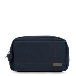 Toiletry bag, navy blue, 86-3P-202-7, Photo 1