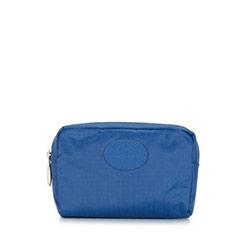 Kosmetyczka, niebieski, 87-3P-001-7N, Zdjęcie 1