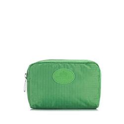 Kosmetyczka, zielony, 87-3P-001-Z6, Zdjęcie 1