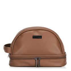 Toiletry bag, brown, 89-3P-200-4, Photo 1