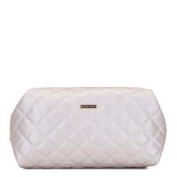 Quilted toiletry bag, cream, 92-3-102-0, Photo 1