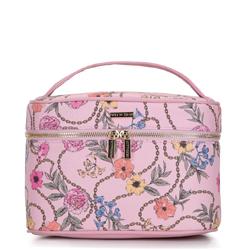 Damska kosmetyczka kuferek duża, różowy, 92-3-106-PX, Zdjęcie 1