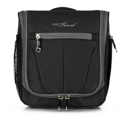 Toiletry bag, black-grey, V25-3S-234-01, Photo 1