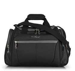 torba podróżna, czarno - szary, V25-3S-236-01, Zdjęcie 1