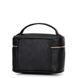Damska kosmetyczka kuferek mała, czarny, 92-3-107-1, Zdjęcie 1