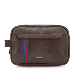 Toiletry bag, brown, 84-3P-723-5, Photo 1