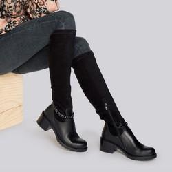 Shoes, black, 93-D-958-1-40, Photo 1