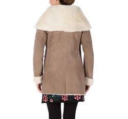 Women's fur, light brown, 81-9S-506-5-M, Photo 1