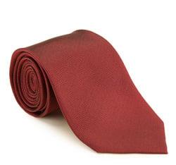Krawat, czerwony, 85-7K-008-3, Zdjęcie 1