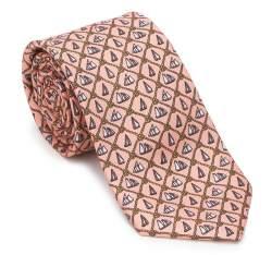 Krawat, łososiowy, 87-7K-001-X1, Zdjęcie 1